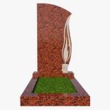 Памятники на могилу из красного гранита