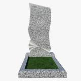 Памятники на могилу из светлого гранита