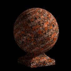 Шар тип 1 - Гранит Капустинский