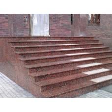 Лестница для улицы из гранита 2