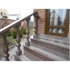 Лестница для улицы из гранита 1