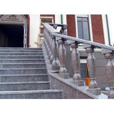 Лестница для улицы из гранита 8